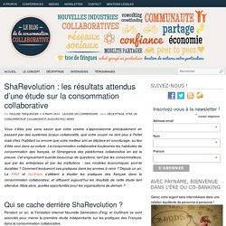 ShaRevolution : les résultats attendus d'une étude sur la consommation collaborative