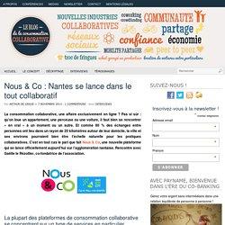 Nous & Co : Nantes se lance dans le tout collaboratif