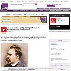 La consolation (3/4): Schopenhauer et Nietzsche: l'art consolateur