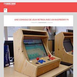 Une console de jeux retros avec un Raspberry Pi