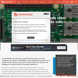 Media Center, VPN, console rétro, routeur Tor : que faire de votre Raspberry Pi ? - Tech