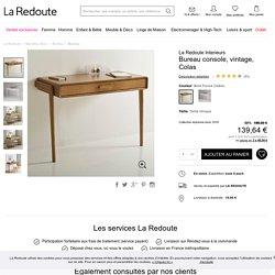 Bureau console, vintage, colas La Redoute Interieurs