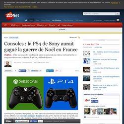 Consoles : la PS4 de Sony aurait gagné la guerre de Noël en France