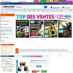 Achat de jeux video et consoles à prix discount – Wii, PS3, XBOX 360, Nintendo DS, PSP, PC pas cher – Cdiscount.com