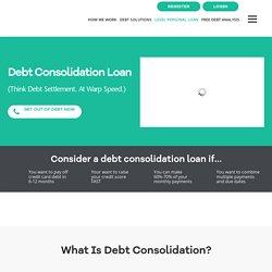 Debt Consolidation Loan - Level Financing