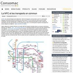 La NFC et les transports en commun