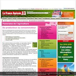 Du producteur auconsommateur - Panorama de l'agriculture - L'agriculture - La France Agricole - Agriculture