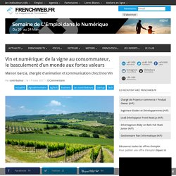 Vin et numérique: de la vigne au consommateur, le basculement d'un monde aux fortes valeurs