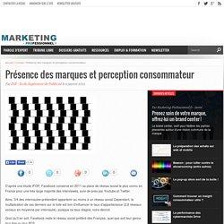 Présence des marques et perception consommateur