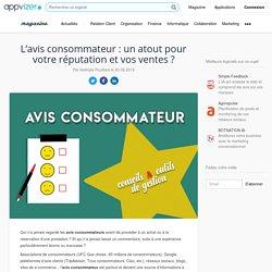 avis consommateur ▷ veille marketing et e-réputation, avis client