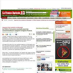 Légumes/Crise sanitaire en Allemagne : la filière française souhaite que les consommateurs exigent l'origine France - Actualités - La France Agricole, toute l agriculture et l information agricole