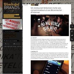 Un restaurant brésilien invite ses consommateurs à se déconnecter d'Internet