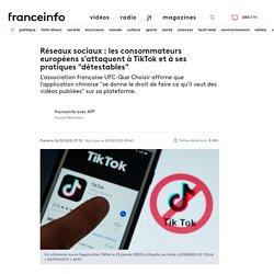 """Réseaux sociaux : les consommateurs européens s'attaquent à TikTok et à ses pratiques """"détestables"""""""