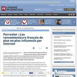 Forrester : Les consommateurs français de plus en plus influencés par Internet - Actualités Internet