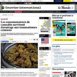Les consommateurs de cannabis survivent davantage aux traumatismes crâniens