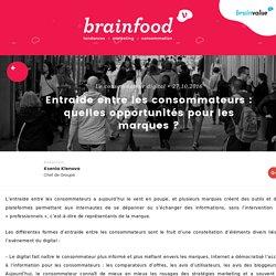 Entraide entre les consommateurs : quelles opportunités pour les marques ? - BrainFood