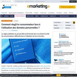 [Étude] Profils de consommateurs face à l'utilisation des données personnelles ?