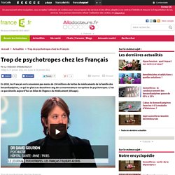 Les Français, au deuxième rang des consommateurs européens de psychotropes