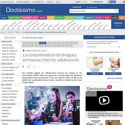 La consommation de drogues en hausse chez les adolescents