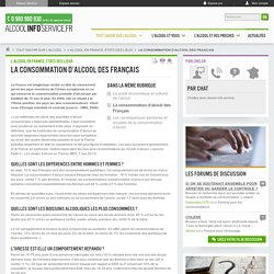 Consommation d'alcool en France - alcoolinfoservice - Alcool Info Service