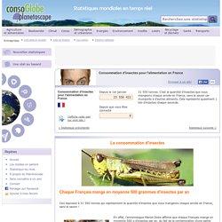 Consommation d'insectes pour l'alimentation en France