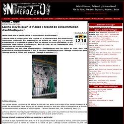 L214 05/04/09 Lapins élevés pour la viande : record de consommation d'antibiotiques !