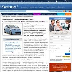 Consommation : l'argument du made in France
