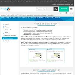 Option Ijenko consommation énergie Bbox - Assistance Bouygues Telecom