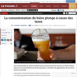 La consommation de bière plonge à cause des taxes