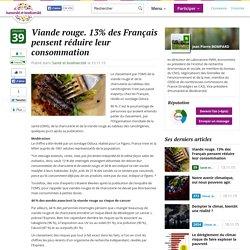 Viande rouge. 13% des Français pensent réduire leur consommation