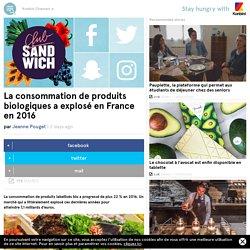 La consommation de produits biologique a explosé en France en 2016