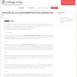 Histoire de la Consommation Collaborative