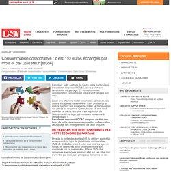 Consommation collaborative : c'est 110 euros...