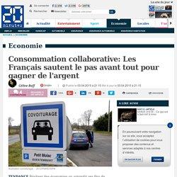 Consommation collaborative: Les Français sautent le pas avant tout pour gagner de l'argent