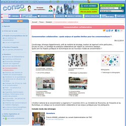 Focus - Consommation collaborative