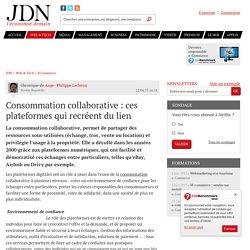Consommation collaborative : ces plateformes qui recréent du lien - JDN