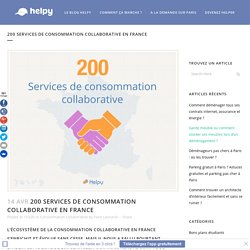 200 services de consommation collaborative en France - Helpy