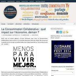 La Consommation Collaborative : quel impact sur l'économie ?