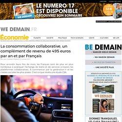 La consommation collaborative, un complément de revenu de 495 euros par an et par Français