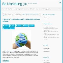 Enquête : La consommation collaborative en France - Be Marketing 3.0