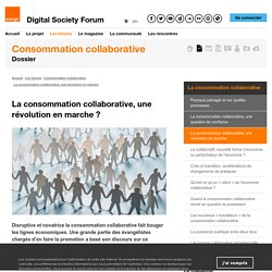 La consommation collaborative, une révolution en marche?