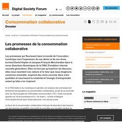 Les promesses de la consommation collaborative