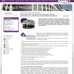 Silver économie : ouverture d'une enquête publique nationale sur les attentes de consommation des seniors / Les communiqués de presse / Espace presse / Groupe / - Accueil