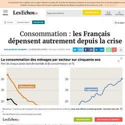 Consommation: les Français dépensent autrement depuis la crise, Conjoncture