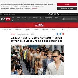 La fast-fashion, une consommation effrénée aux lourdes conséquences