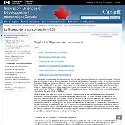Dépenses des consommateurs (Canada)