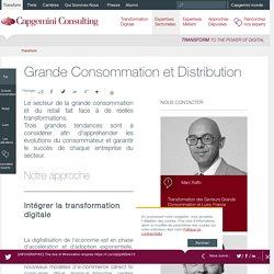 Grande Consommation et Distribution