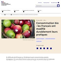 Consommation bio : les Français ont modifié durablement leurs pratiques