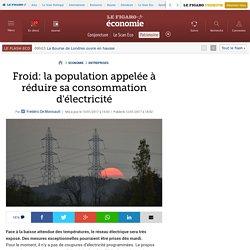 Froid: la population appelée à réduire sa consommation d'électricité