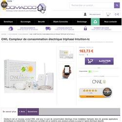 OWL Compteur de consommation électrique triphasé Intuition-lc Eco Energie